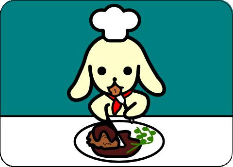 コロッケの日(5月6日)のピクじろう